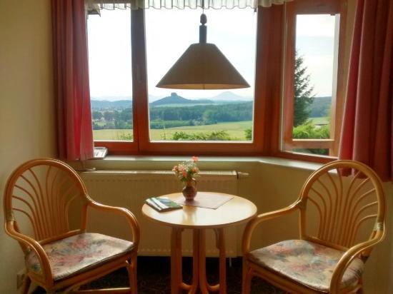 Panoramahotel Wolfsberg: Panorama-Zimmer-Ausblick