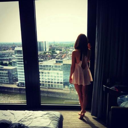 Hyatt Regency Dusseldorf: Из окна