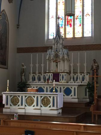 Tignish, Canada: Inside the church