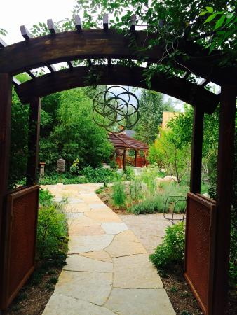 Entrance from bike path - Picture of True Nature Healing Arts ...