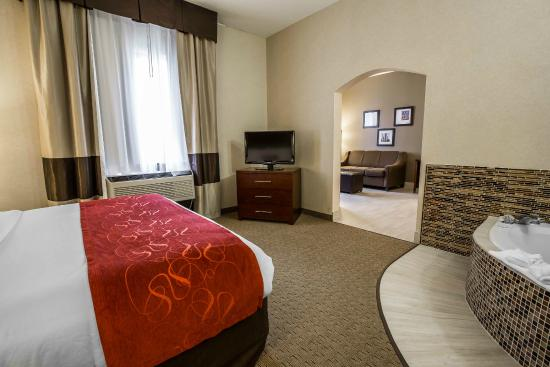 Comfort Suites Sugar Land: Jacuzzi Suite