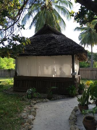 Pole Pole Bungalows: The SPA!