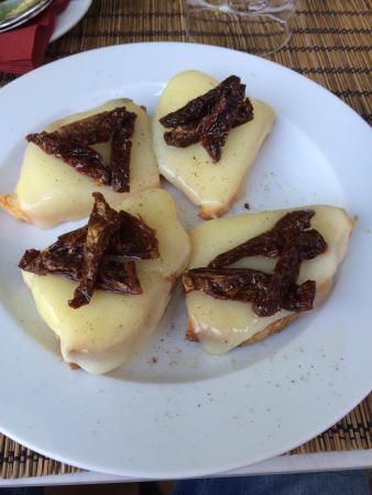 Antica Toscana : Food from menu
