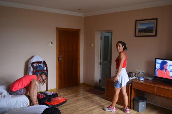 Riverside Hostel: Chambre