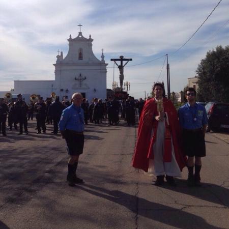 Pulsano, Italie : Processione del Crocifisso