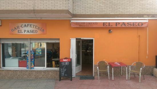 BAR CAFETERÍA El Paseo