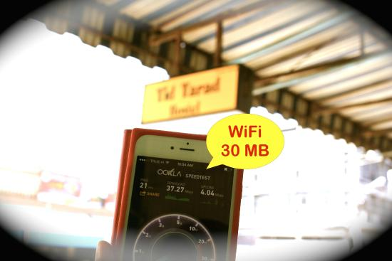 Tid Tarad Hostel Hua Hin : Wifi Speed > 30 MB