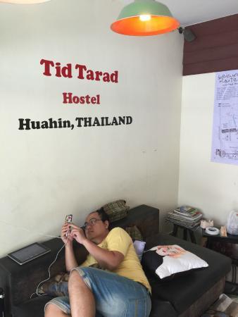 Tid Tarad Hostel Hua Hin : Lobby