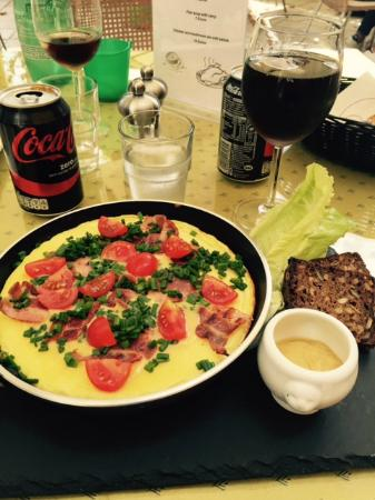 Maison Du Midi: Omelette