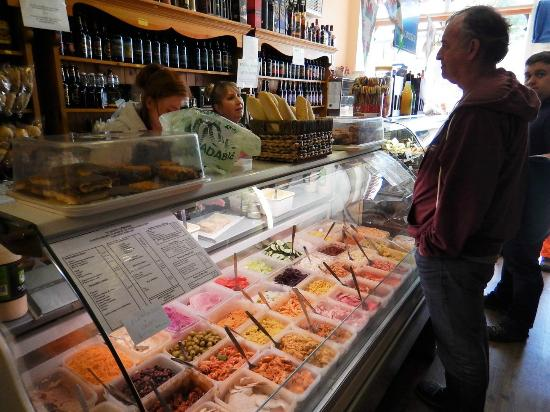 Y Pantri Cymraeg: Amazing selection of fillings for sandwiches and salads!