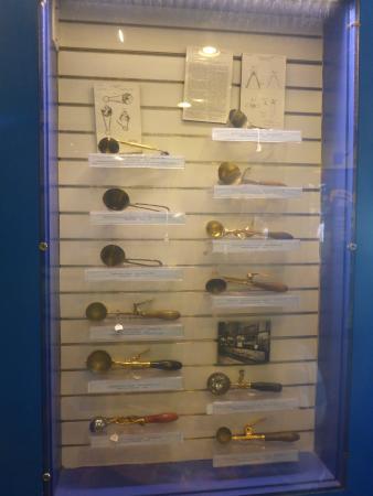 """Waterbury, VT: scooper/dipper """"museum"""""""