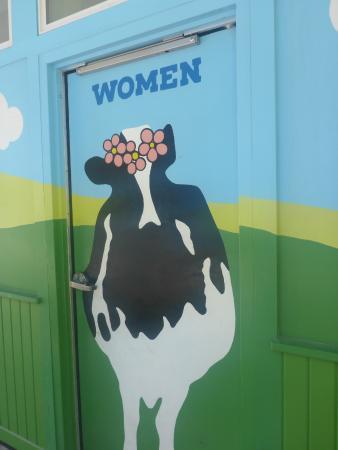 Waterbury, VT: ladies room