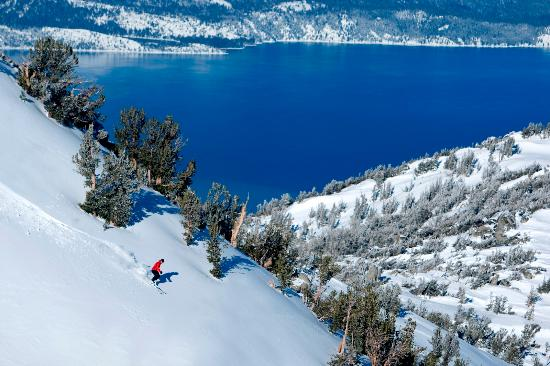 Ski Lake Tahoe: Skiing Lake Tahoe