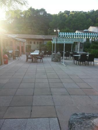 Figanieres, Francia: la terrasse du restaurant