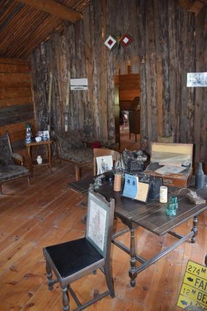 Big Delta State Historical Park: Altes Telegrafenhäuschen