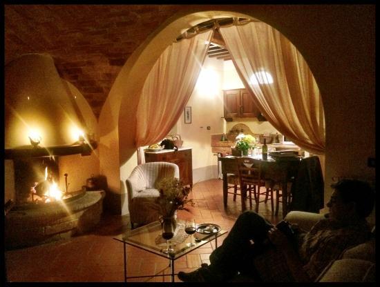Agriturismo Cretaiole di Luciano Moricciani: Our apartment