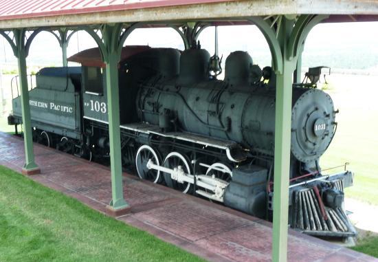 Yellowstone County Museum: locomotive