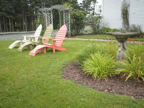 Coastal Waters Accommodations B&B : Backyard