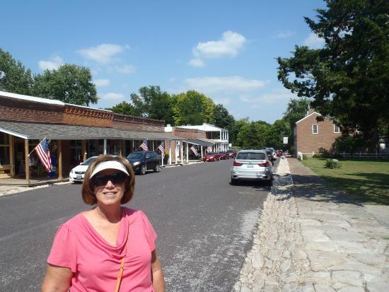 Arrow Rock State Historic Site: Main Street