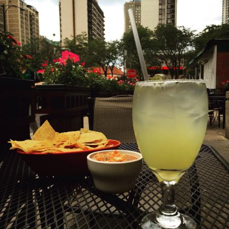 Blue Agave: I live for outdoor seating... And Margaritas! :)