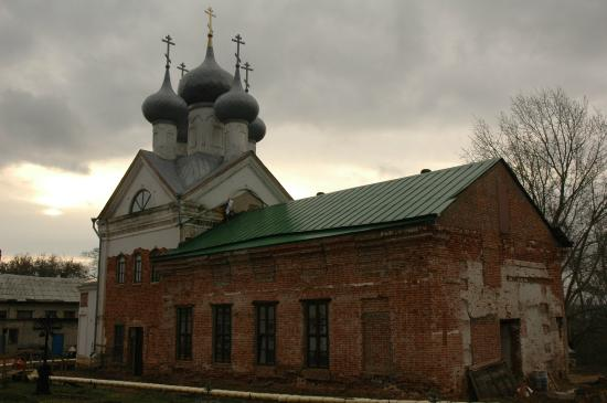 ‪The Temple in the Name of St. Sergius of Radonezh‬