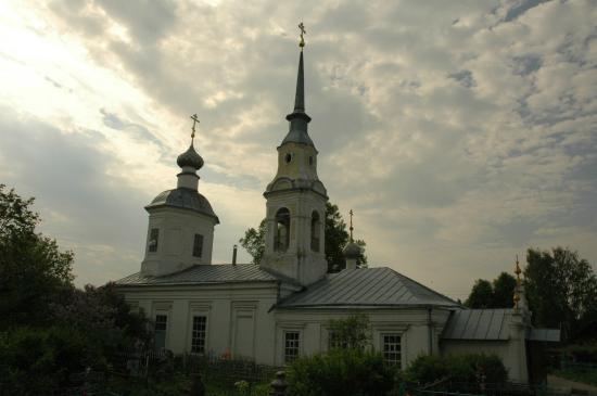 Nerekhta, Russland: Крестовоздвиженская церковь