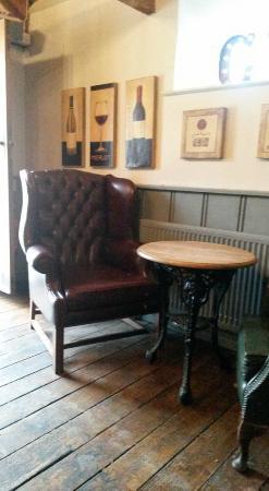 The Five Alls: Cosy pub.