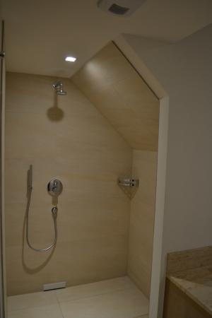 Badkamer (inloopdouche) - Bild von Hotel Ruland, Altenahr - TripAdvisor