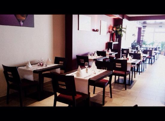 Belle Deco... - Bild von Restaurant Cristal, Soleuvre - TripAdvisor