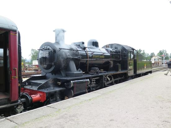 Strathspey Railway: The steam engine