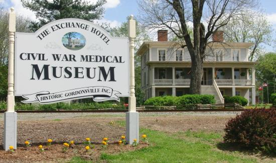 Gordonsville, VA: The Exchange Hotel Civil War Medical Museum
