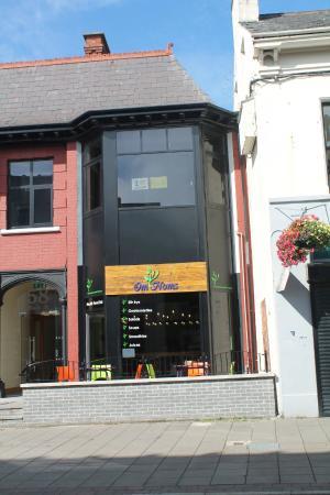 Front door picture of omnoms larne tripadvisor for Exterior doors northern ireland
