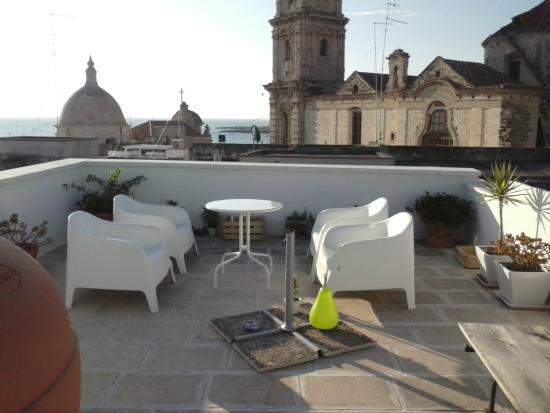 Terrazza con vista sul centro storico di Monopoli - Picture of La ...
