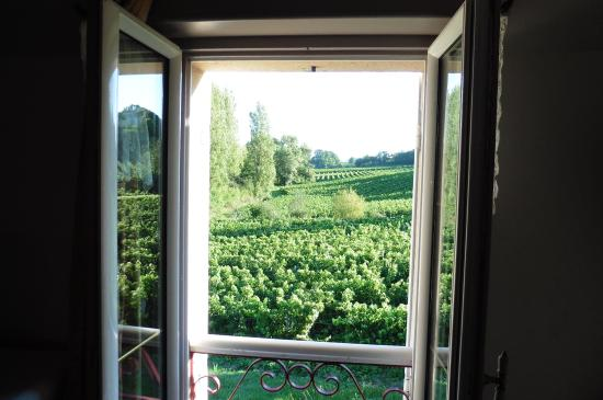 Chateau La Closerie De Fronsac: View from our room