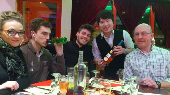 Wok Sun: un repas tous en famille