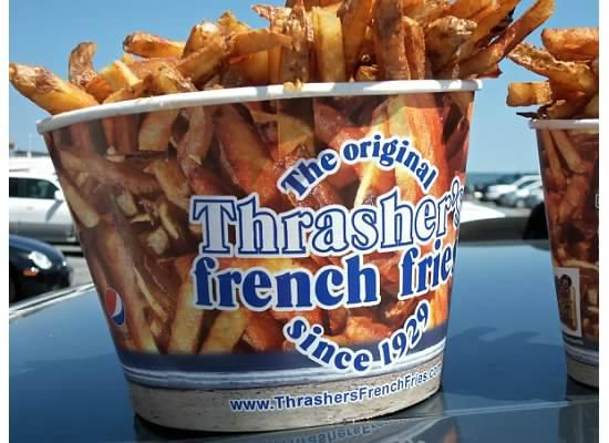 Thrasher's French Fries: Best fries on the East Coast!