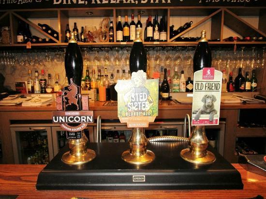 Burlton Inn Bar 1