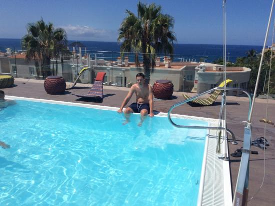 Roof Top Pool Picture Of Colon Guanahani Adrian Hoteles Costa