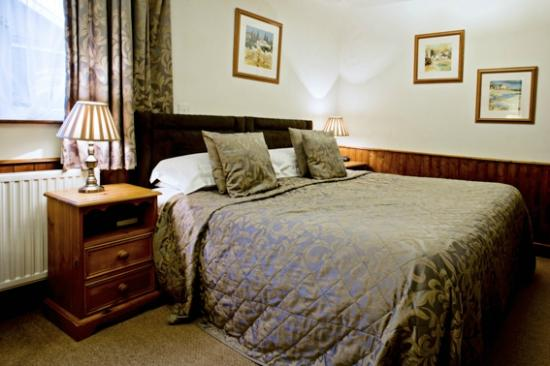 Munslow, UK: Broncroft Room with its superking bed..