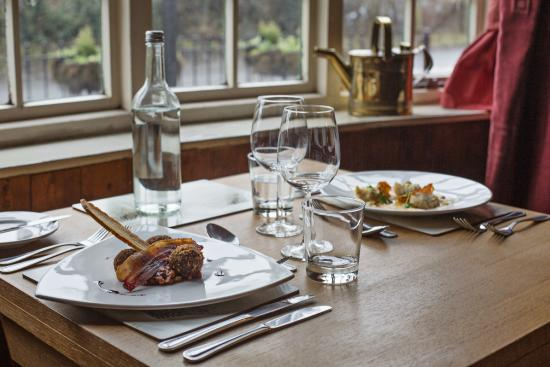 Munslow, UK: Downstairs Bay Restaurant