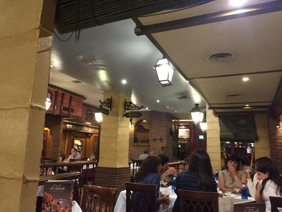 Trastevere: Interior del restaurante
