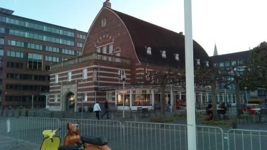 Langengrad: Längengrad Kiel, am Schwedenkai