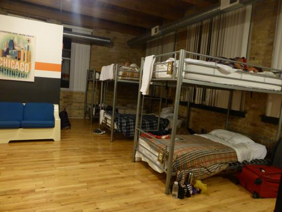 Urban Holiday Lofts: The 8-female dorm