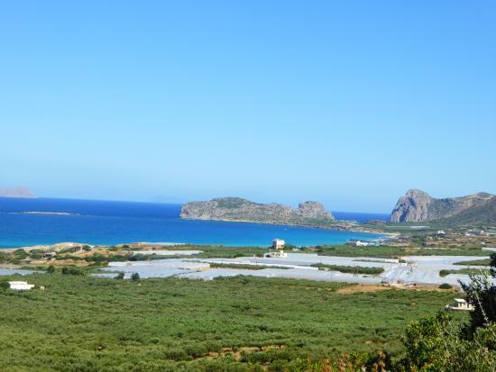 Falassarna Bay view from Kavousi Resort
