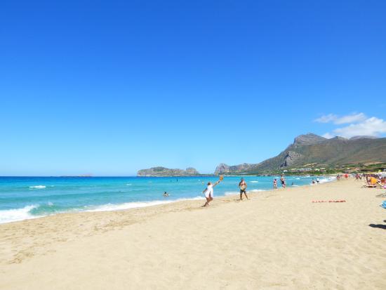 Kavousi Resort: Falassarna Beach