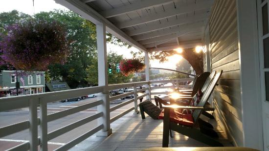 Highlands Inn: View from front porch near sunset