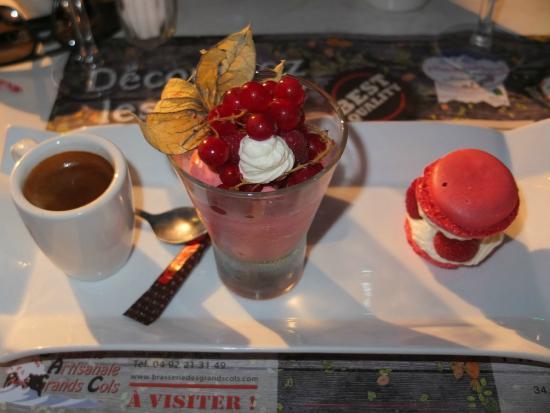Reallon, Francja: Cafe gourmand