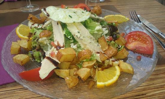 salade forestière - Photo de La table du jardin, Poitiers - TripAdvisor