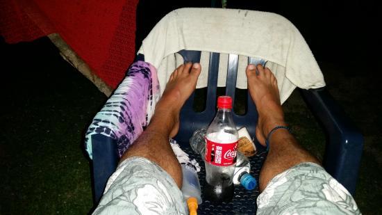 Camping Tayrona: resting