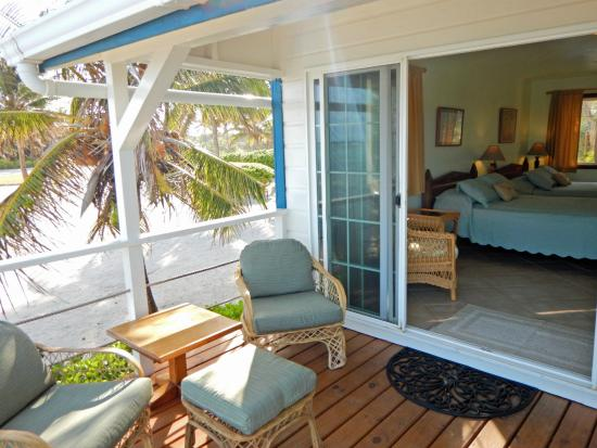 Turneffe Flats : Fully air-conditioned, beachside accomodations